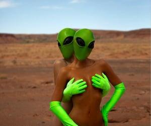 alien, aliens, and lesbian image