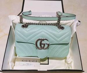 gucci, handbag, and turquoise image