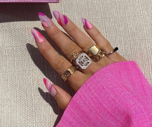 manicure, nail inspo, and nails image