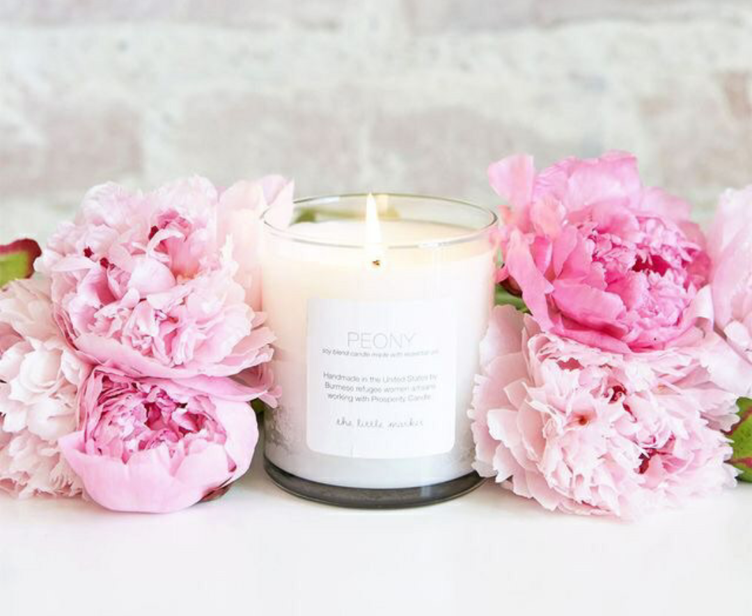 candle, flowers, and candles image