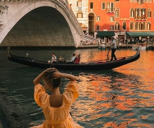 boat, travel, and water image
