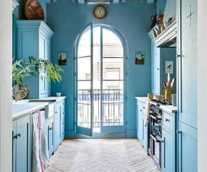 cozinha azul, suadecoracao, and cozinha decorada image