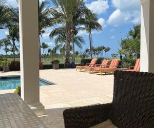 bahamas, beach, and house image