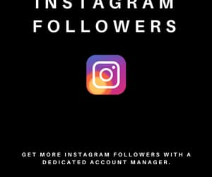 socialmedia, instagram, and followers image