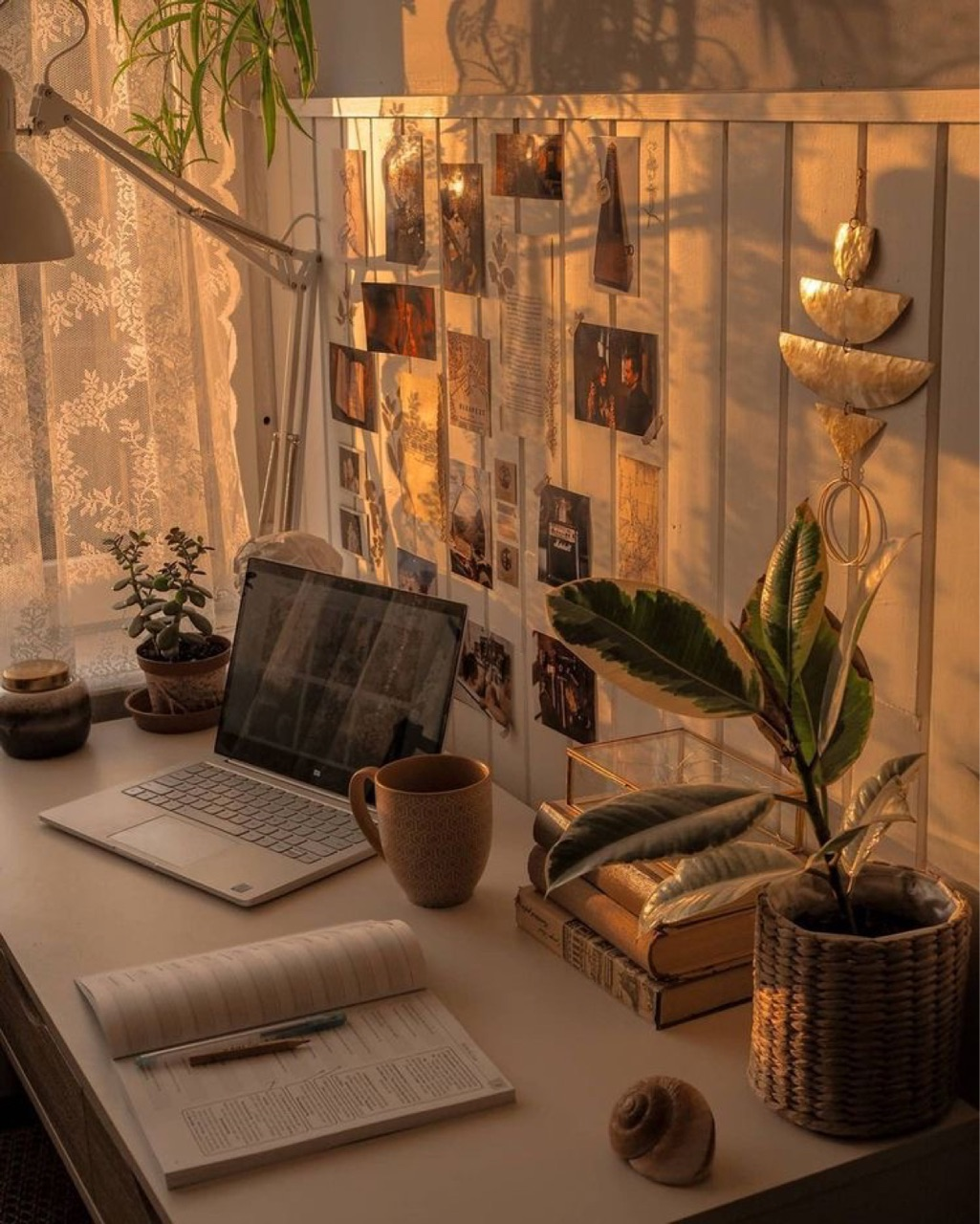 book, home, and work image