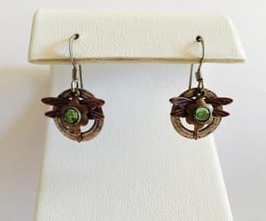 accessories, pierced earrings, and dangle earrings image