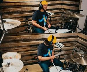 drummer, studio, and five seconds of summer image