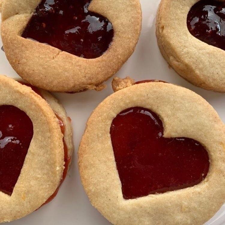 cookie, dessert, and food image