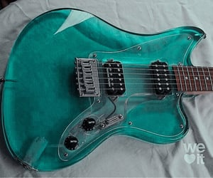 guitare, mint, and music image