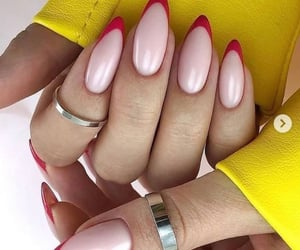 claws, nails, and nude nails image
