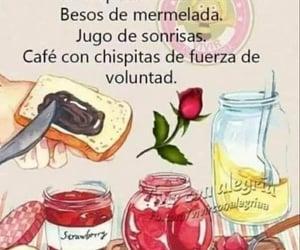 good morning, recipe, and buenos días image