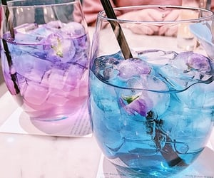 drink, blue, and aesthetic image