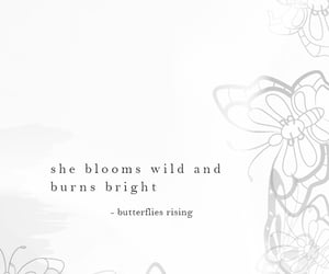 bloom, free spirit, and quote image