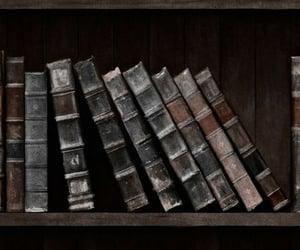 biblioteca, black, and wallpaper image