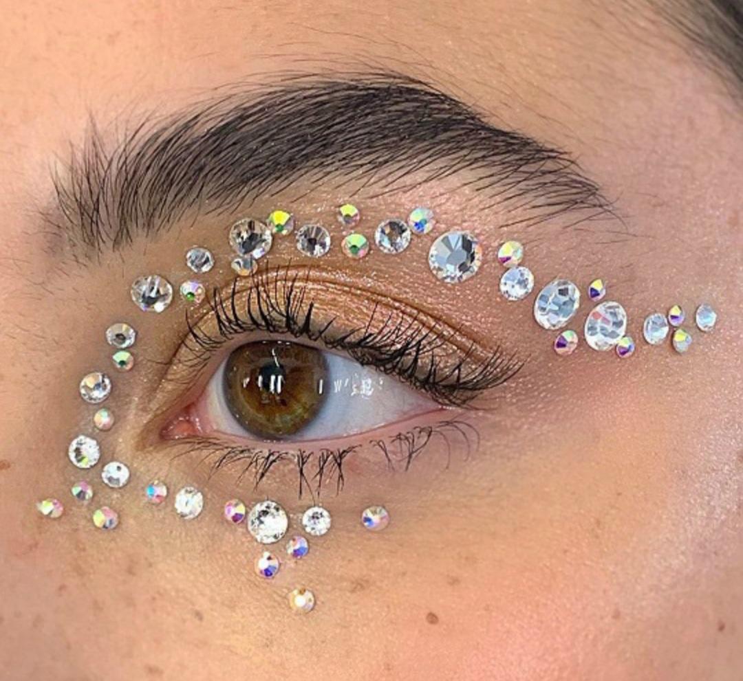 eyeshadow, makeup, and art image