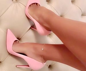 barbie, pumps, and shoes image