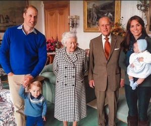 prince philip, kate middleton, and prince william image