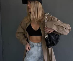 aesthetic, girl, and street style image