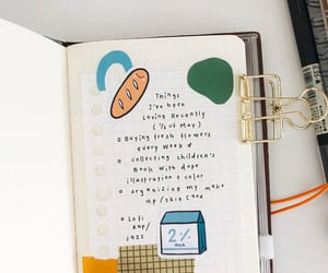 aesthetic, planning, and bujo image