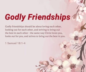 bible, friendship, and god image