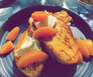 breakfast, honey, and french toast image