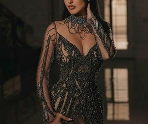dress, elegant, and girls image