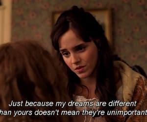quotes, dreams, and emma watson image