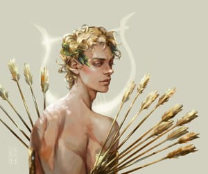aesthetic, apollo, and god image
