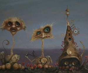 beasts, gnome, and children art image