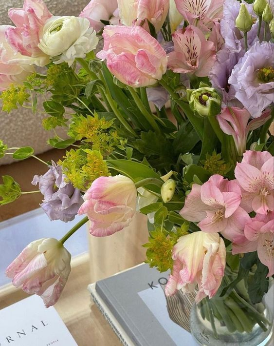 cute, flowers, and style image