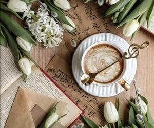 Coffee & flowers