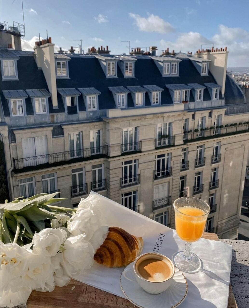 breakfast, tulips, and coffee image