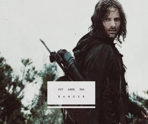 aesthetic, aragorn, and edit image