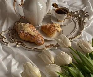 flowers, food, and tea image