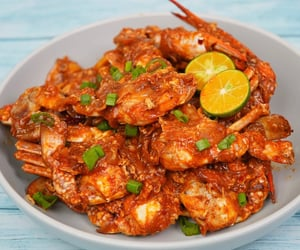 crab, delicious, and foods image