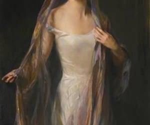 art, beautiful, and woman image