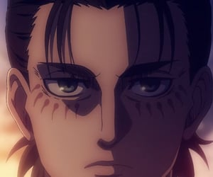wallpaper, snk, and eren jeager image