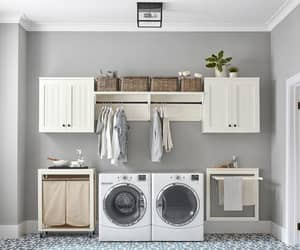 cleaning, home improvement, and laundry room organization image