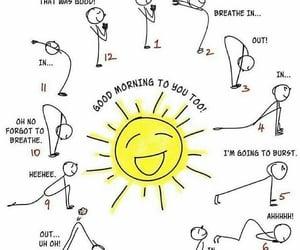 moon, sun, and yoga image