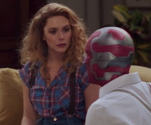 80s, scarlet witch, and mcu image