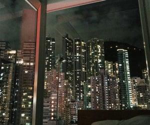 night and new york image