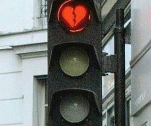 aesthetics, life, and stop light image