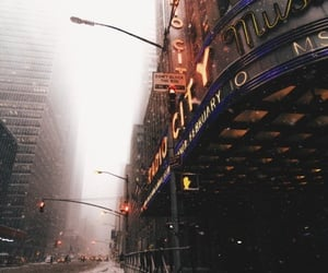 nyc, places, and snow image