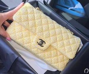 bag, chanel, and yellow image