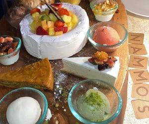 baklava, cheesecake, and dessert image