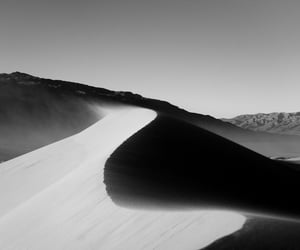 b&w, black and white, and sands image