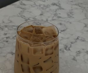 ice, milk, and cafe image