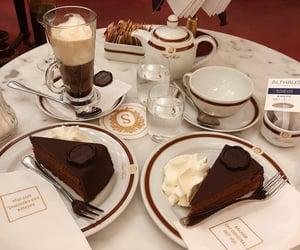 chocolate, coffee, and sacher image