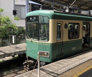 aesthetic, train, and japan image