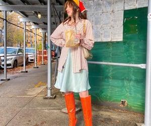 Brooklyn, casual, and orange image